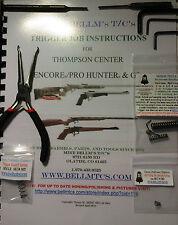 Bellm T/c's Complete Trigger Job Manual Pliers Punch's Allen Keys Spring Kit No2