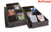 ULTRA PRO One Touch Toploader Sorting Dealer Storage Tray 8 Slots Compartments
