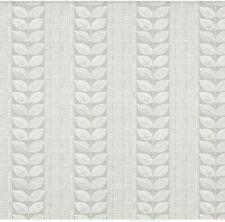 Laura Ashley Woodblock Leaves Steel Wallpaper X3 Rolls Same batch W099121-A/1