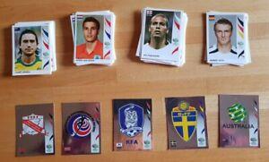 LOT OF PANINI 2006 WORLD CUP 100 STICKERS + 5 SHINYS + PORTUGAL TEAM ( RONALDO)