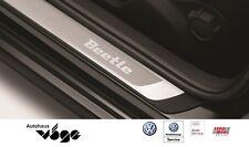 """Original VW Beetle Einstiegsleisten Edelstahl, mit Schriftzug """"Beetle"""" 5C0071303"""
