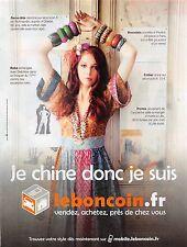 Publicité Advertising 2011 - LE BON COIN - (Advertising paper)