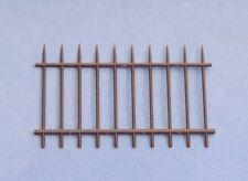 Escala 1/35 Barandilla de Acero Valla de inyección de 2 piezas de plástico moldeado Diorama