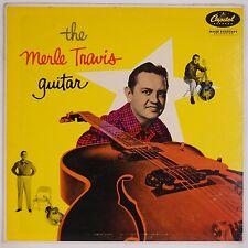 MERLE TRAVIS: The Guitar CAPITOL Mono Teal ORIG Vinyl LP VG++