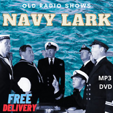 The Navy Lark 236 Old Time Radio Shows on MP3 DVD over 111hrs