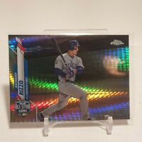 2020 Topps Chrome Update Anthony Rizzo X-Fractor Refractor 77/99 SP Cubs #U-85