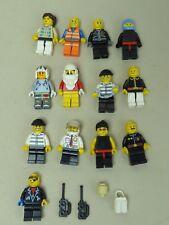 LEGO figuras City espacio aventure lote de 13 FIGURAS