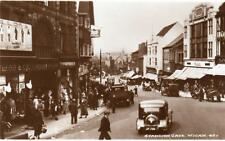 Standish Gate Wigan Motor Car unused RP old pc Bamforth