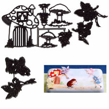 Sugarcraft Patchwork cutters-Fairies and Toadstools Set
