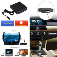 1-Din HD Car Radio In-Dash DVD Player External Android 4.4 Stereo USB Interface