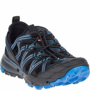 Men's Merrell Choprock Shandal Hiking Closed Sandal Granite / Blue