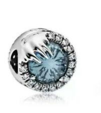 pandora charm Frozen cristallo d'inverno SCINTILLANTE :