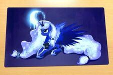 4bf06555f21 C564(24) Free Mat Bag My Little Pony Princess Luna Playmat Card Game Play