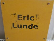 "Eric Lunde - Static 1  8"" Lathe Cut , lim. 30 , American-Noise"