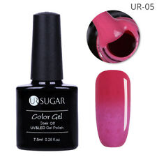 7.5ml Thermal Soak Off Fur UV Gel Nail Polish Color Changing Gel Varnish UR-05