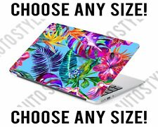 Tropical Flowers Palm Leaf Laptop Skin Decal Sticker Tablet Skin Vinyl Cover