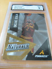 KYRIE IRVING CAVALIERS CELTICS 2013 PINNACLE THE NATURALS # 4 GRADED 9 L@@@K