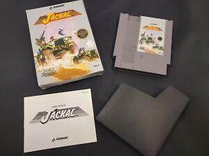 Jackal Nintendo NES Video Game Box Manual Konami