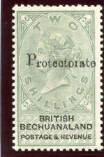 Bechuanaland 1888 QV 2s green & black MLH. SG 47. Sc 55.