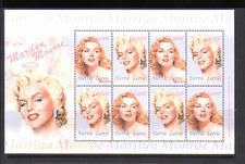 Sierra Leone 2004 Marilyn Monroe/Cinema 8v sht (n13059)