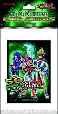 50 Konami Yugioh Zexal card sleeves deck protectors for Yugioh cards