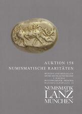 LANZ AUKTION 158 Katalog Numismatische Raritäten Münzen und Medaillen ~TH