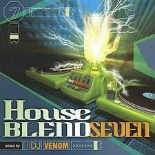 DJ VENOM-HOUSE BLEND 7  CD NEW