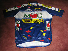 MG technogym FAUSTO COPPI NALINI italiano vintage ciclismo Jersey [5]