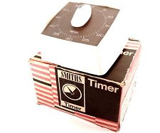 Smiths 60 Minuti Timer Modello No. QLR 800-SUPERBA E INSCATOLATO - 1970's Retro