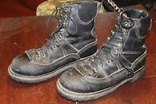 VINTAGE DANNER STEELTOE LEATHER WORK BOOTS 7 D