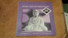 Tony Scott · Shinichi Yuize · Hozan Yamamoto – Music For Zen Meditation lp
