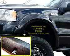 2004-2008 FORD F-150 POCKET RIVET style Bolt-On KING FENDER FLARES TEXTURE all 4