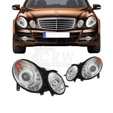 Scheinwerfer Set Mercedes E-Kl. W211 LED klar/chrom Dragon Lights 1003198