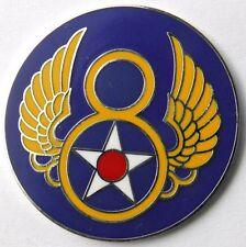 USAF US 8TH AIR FORCE LAPEL PIN BADGE 1 INCH