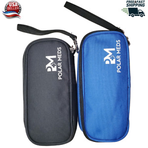 Diabetic Insulin Cooling Case Medicine Cooler Carrying Travel Pouch w/ Ice Pack