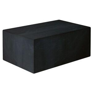 6/10 seater cube set rain cover in Black
