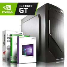 EXO GAMING PC AMD X4 950 Quad 8GB DDR4 2000GB HDD GT 710 2GB Windows 10 Computer