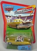 New Disney Pixar Cars WOC Tex Dinoco Diecast WOC #29 Race o Rama 1:55 Vehicle