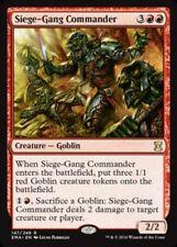 [1x] Siege-Gang Commander [x1] Eternal Masters Near Mint, English -BFG- MTG Magi