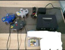 N64- Nintendo 64 mit 3 original Controller und Spiel