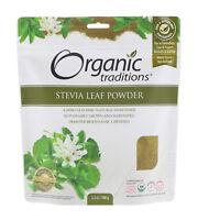 Organic Traditions  Stevia Leaf Powder  3 5 oz  100 g