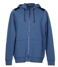 1,450$ Lanvin Blue Cotton Hoodie Sweater Size XL, Made in Italy