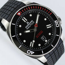 ANONIMO Nautilo Sailing schwarz / rot Automatik 44,4mm Uhr (Neuware) limitiert
