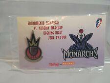 Wnba Sacramento Monarchs 1999 opening night pin