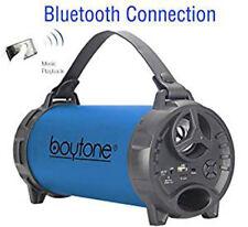 Boytone BT-40 Portable Bluetooth Indoor/Outdoor Speaker 2.1 Hi-Fi Cylinder FM