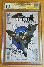 DETECTIVE COMICS #27 SPECIAL EDITION CGC 9.4 SS signed Scott Snyder(not 9.8)
