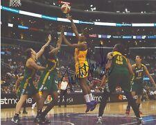 Jantel Lavender Signed 8 x 10 Photo Wnba Basketball Los Angeles Sparks Free Ship