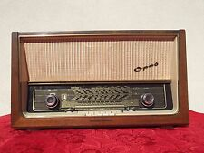 # RADIO TELEFUNKEN SUPER # OPUS 8 # HIFI ORIGINAL GERMANY 1957 2 EL84 6 SPEAKER