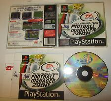 Football Manager 2000 Premier League- Sony Playstation PS1 PSX PAL SPESE GRATIS