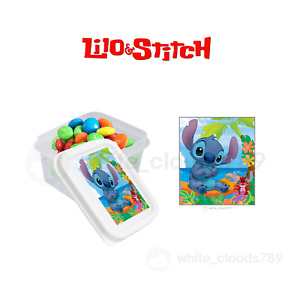 10 Lilo and Stitch Party Favor Candy Containers with lid 2.3 oz Fillable Gift
